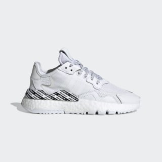 Chaussure Nite Jogger Cloud White / Cloud White / Core Black FV4568