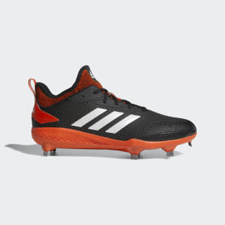 Adizero Afterburner V Cleats Core Black / Running White / Collegiate Orange AQ0096