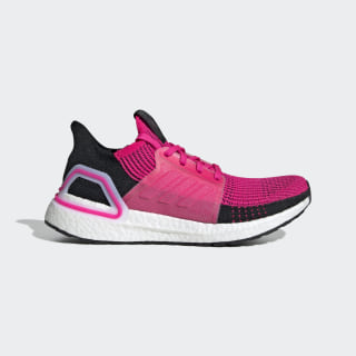 Ultraboost 19 Shoes Shock Pink / Core Black / Cloud White G27485