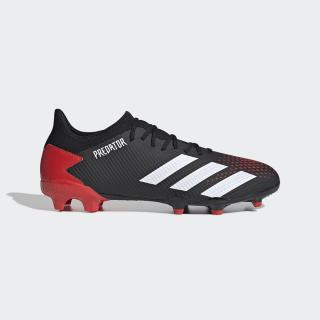 Calzado de fútbol Predator 20.3 Terreno Firme Core Black / Cloud White / Active Red EE9556