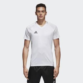 Camiseta de fútbol TIRO17 WHITE/BLACK BQ2801