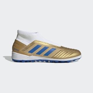 Predator 19.3 Turf Boots Gold Metallic / Football Blue / Cloud White EF0390