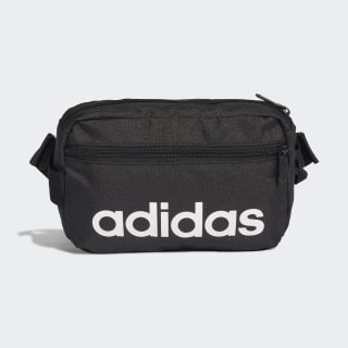 Bolsa de Cintura Linear Core Black / Black / White DT4827