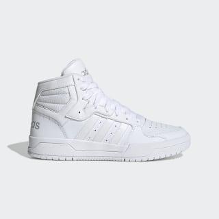 Entrap Mid Shoes Cloud White / Cloud White / Matte Silver EG4341