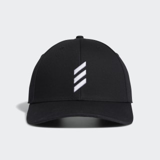 BOLD STRIPE HAT Black FL9862