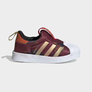 Superstar 360 Shoes Collegiate Burgundy / Gold Metallic / Cloud White FV7772