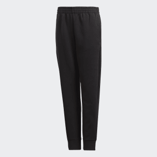 Pantalón YB MH PL PANT Black / White DV0797