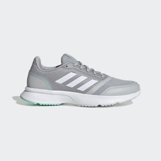 Nova Flow Shoes Grey Two / Cloud White / Bahia Mint EH2586