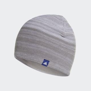Шапка-бини ID Climaheat medium grey heather / white / mystery ink f17 DJ1208