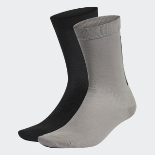 Calcetines Clásicos Thin 2 Pares Black / Dove Grey FM0722