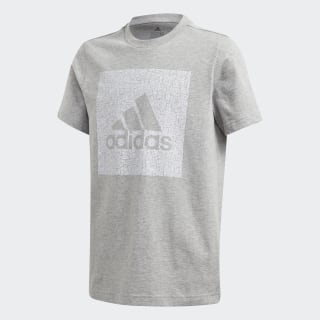 Must Haves Badge of Sport T-shirt Medium Grey Heather FM4488