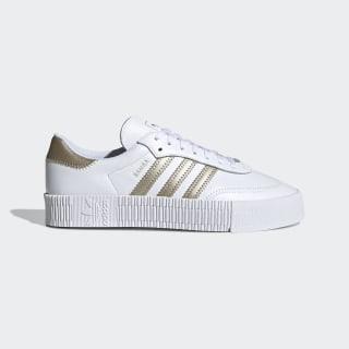 SAMBAROSE Shoes Cloud White / Cyber Metallic / Pale Nude FW5392