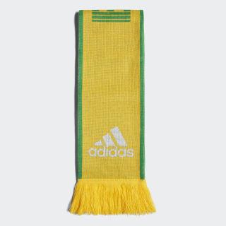 Écharpe Brésil Bold Gold / Green / White CF5185