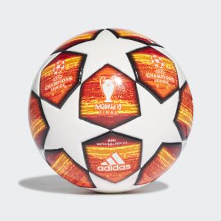 Футбольный мини-мяч Finale white / active red / scarlet / solar red DN8684