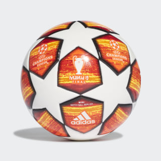 Pelota FINALE M MINI White / Active Red / Scarlet / Solar Red DN8684