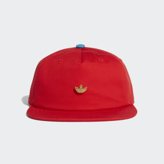 Gorra SAMSTAG ARC CAP active red / shock cyan DU6799