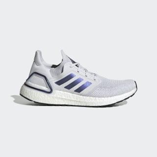 Кроссовки для бега Ultraboost 20 Dash Grey / Boost Blue Violet Met. / Core Black EG0695