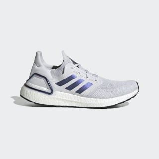 Zapatillas para correr Ultraboost 20 Dash Grey / Boost Blue Violet Met. / Core Black EG0695