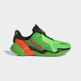 4UTURE Runner Shoes Shock Lime / Solar Orange / Core Black EG1768