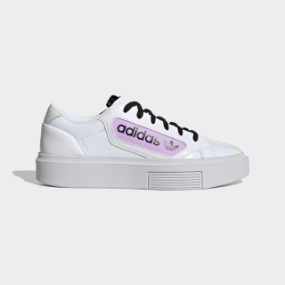 Chaussure adidas Sleek Super Cloud White / Crystal White / Clear Lilac EF4953