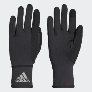 Rękawiczki Climalite Gloves Black / Black / Reflective Silver BR0694