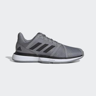 Tênis CourtJam Bounce Grey Three / Core Black / Cloud White EE4318