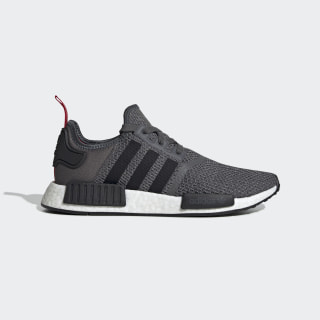 NMD_R1 Shoes Dark Grey Heather / Core Black / Power Red EH2289