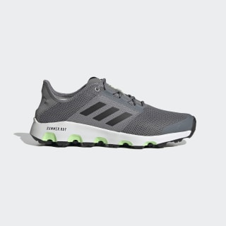 Terrex Climacool Voyager Shoes Grey Three / Core Black / Signal Green EF2290