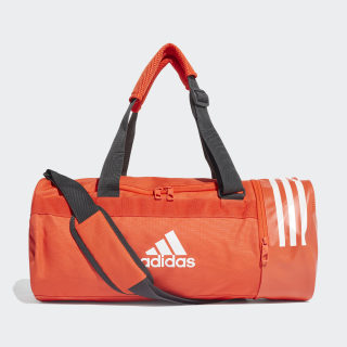 Convertible 3-Stripes Duffel Bag Small Active Orange / White / White DZ8690