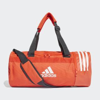 Convertible 3-Stripes Duffel Bag Small Active Orange / White / White DZ8690