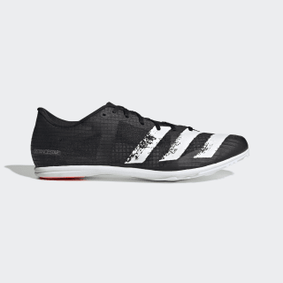Distancestar Atletiekschoenen Core Black / Cloud White / Signal Coral EG1201