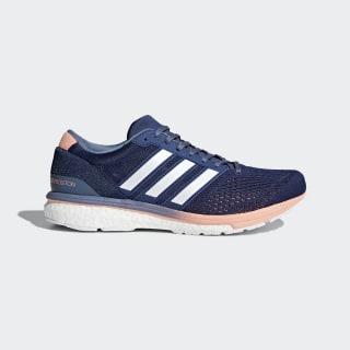 adizero Boston 6 Shoes Noble Indigo / Cloud White / Raw Steel BB6418