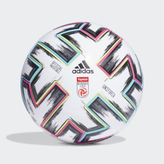 Ballon Austrian Football Bundesliga Pro White / Black / Signal Green / Bright Cyan FS6586