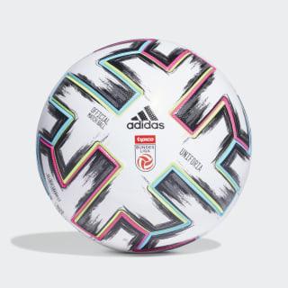 Lopta Austrian Football Bundesliga Pro White / Black / Signal Green / Bright Cyan FS6586