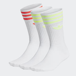 Calcetines Clásicos Solid White / White / White FM0625