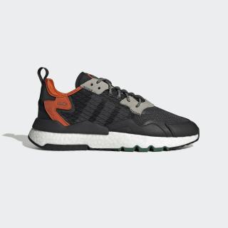 Nite Jogger Shoes Core Black / Grey Six / Orange EE5549