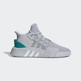 EQT Bask ADV Shoes Grey Two / Ftwr White / Sub Green B37514