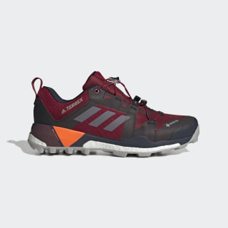Terrex Skychaser GTX Shoes Collegiate Burgundy / Grey Two / Solar Orange G26547