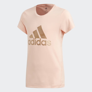 Holiday Tee Glow Pink / Copper Metalic ED6323