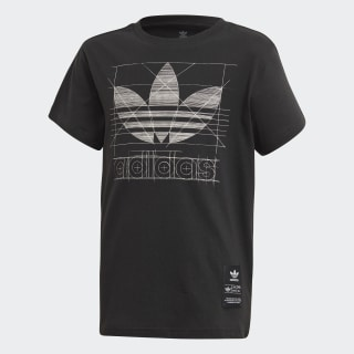 Graphic T-shirt Black FM5563