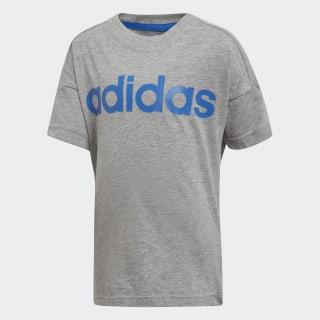 Little Kids Linear T-shirt Medium Grey Heather / Blue DJ1532