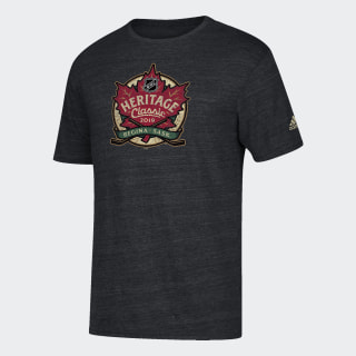 Heritage Classic Tee Nhl-Nhl-Ho1 / Black Heather GD4849