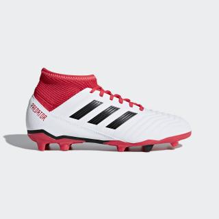 Zapatos de Fútbol Predator 18.3 Terreno Firme FTWR WHITE/CORE BLACK/REAL CORAL S18 CP9011