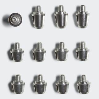 Longs crampons TRX pour terrain gras Silver / Aluminium BP7976