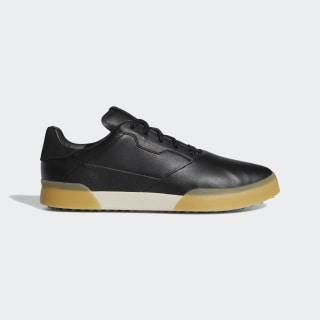 Adicross Retro Golf Shoes Core Black / Gold Metallic / Clear Brown EE9163