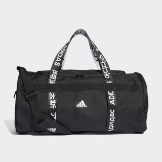 Taška 4ATHLTS ID Duffel Medium Black / Black / White FJ9352