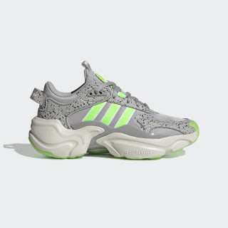 Magmur Runner Shoes Grey Two / Solar Green / Raw White EF9001