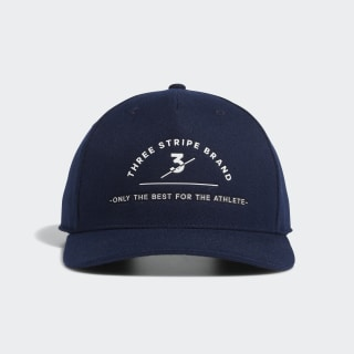 Three Stripe Brand Hat Collegiate Navy EA2755