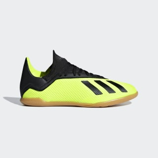 Calzado de Fútbol X Tango 18.3 Superficies Interiores Niño SOLAR YELLOW/CORE BLACK/SOLAR YELLOW DB2426