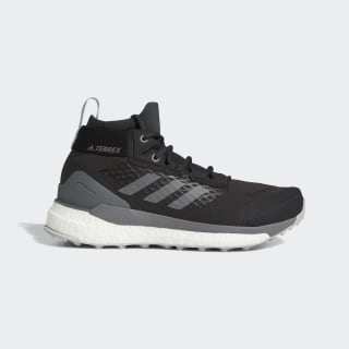 Terrex Free Hiker GOR-TEX Hiking Shoes Carbon / Grey Four / Glow Blue G28464